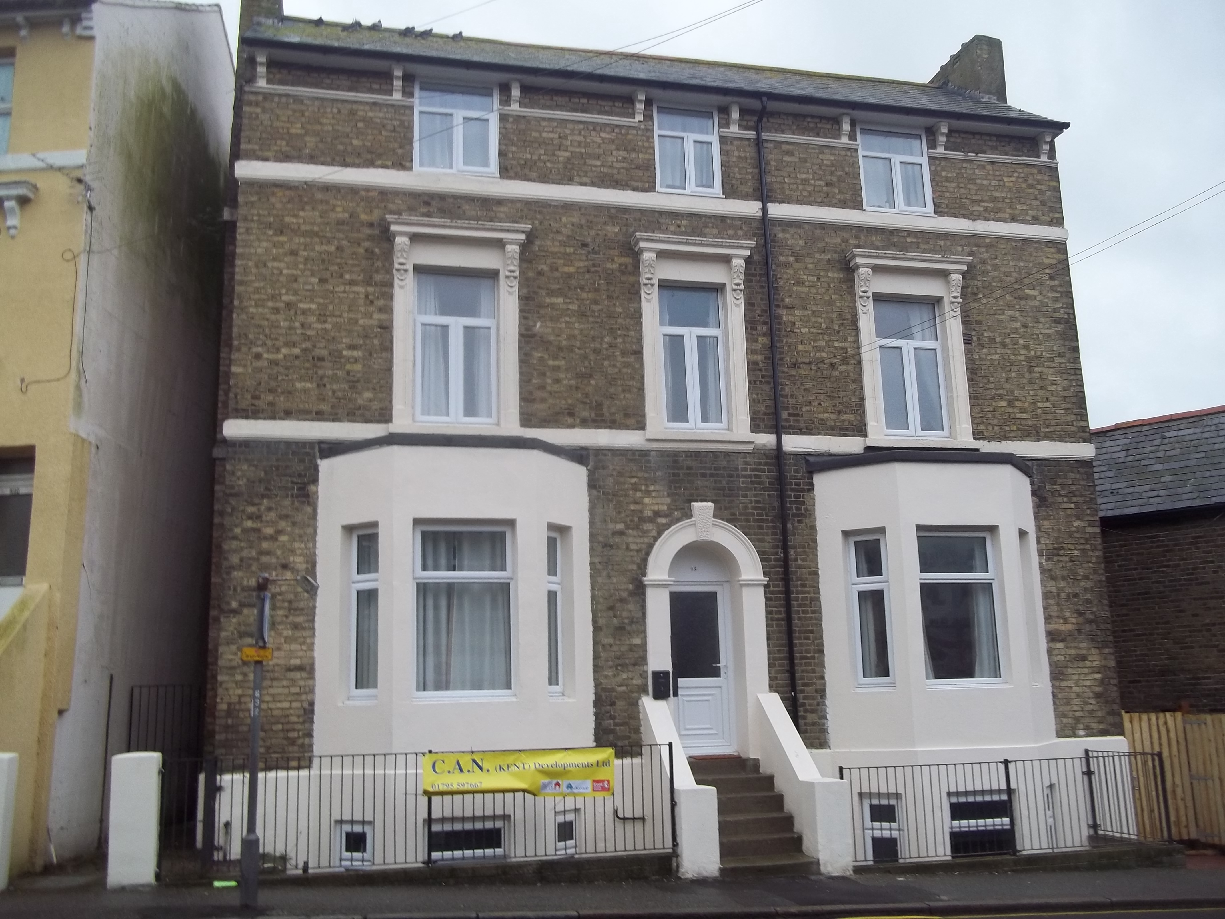 Affordable homes dover road folkestone no use empty for Affordable house builders