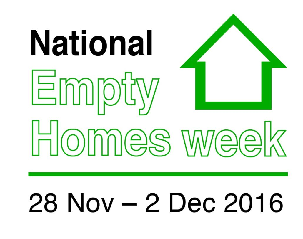 Nue celebrating national empty homes week no use empty for National house builders